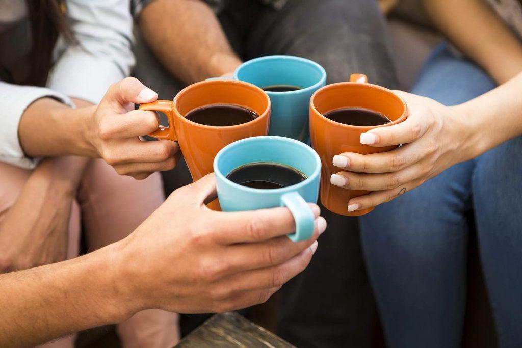 équipe de cafe-expresso